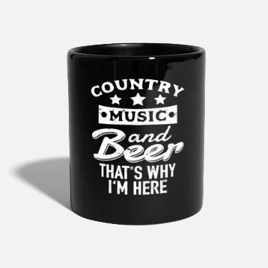 Country Country Music and Beer - Mugg