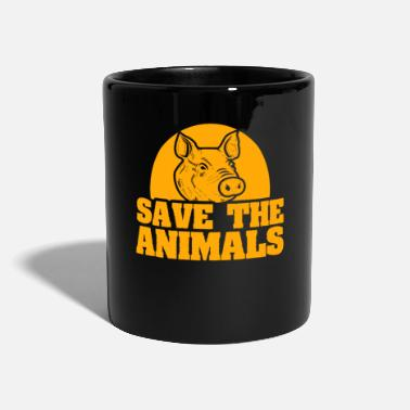 Animal Animal bien-être animal animal cochon animal - Mug uni