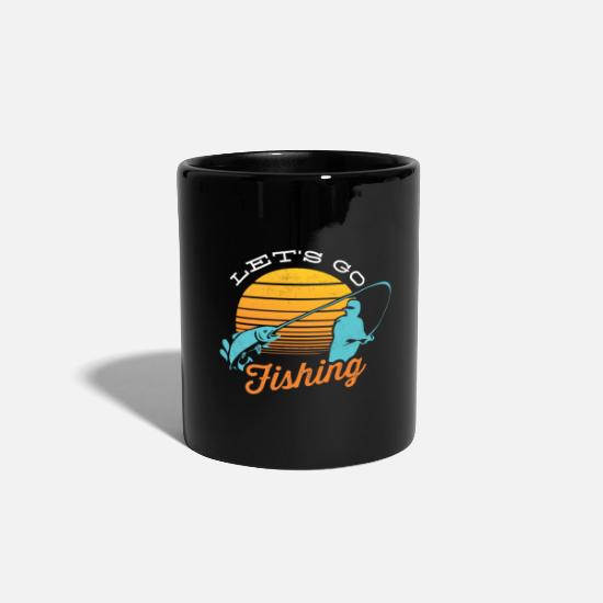 Gift Idea Mugs & Drinkware - Fishing - Fishing - Fishing - Fishing rod - Mug black