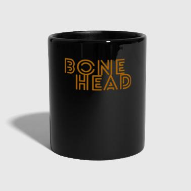 Word Art Bonehead Art Word - Full Colour Mug