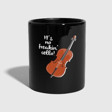 Cello It's No Freakin Cello Player Musician Cellist - Full Colour Mug
