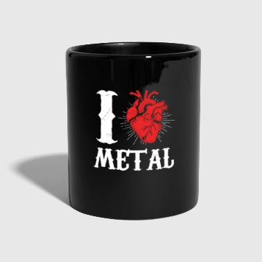 Musica Rock I Love Metal Music Rock and Roll Punk - Tazza monocolore
