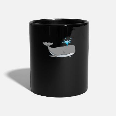 Presentare Whale Animal Under Water Creature Killer Whale - Tazza monocolore