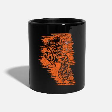 Angry Ferocious Tiger - Full Colour Mug