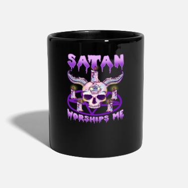 Horn Pink Goth T-Shirt for Satanists I Satan - Mug