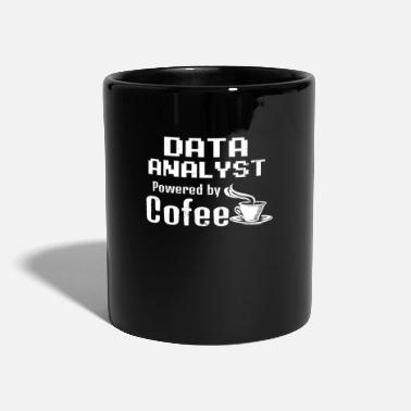 Data Analyst Powered By Data Analyst Data Analyst Powered By Coffee Gift - Mug