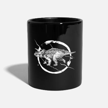 Wilderness Triceratops dinosaur wilderness scratch claw - Mug
