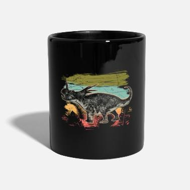 Lizard Diceratops Dinosaur Wilderness Jungle Fossil - Mug