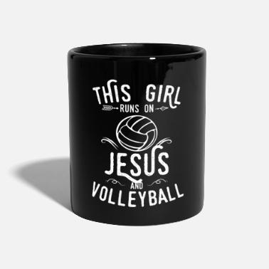 Jesus Volleyball Christian - Mug