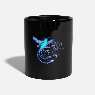Colibri hummingbird in ice colors - Mug