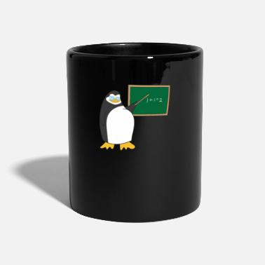 Päiväkoti Penguin Teacher Ruler Chalk lahja - Muki