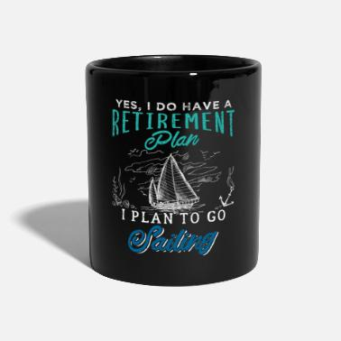 Captain Retirement Plan Sailing Vintage - Tasse