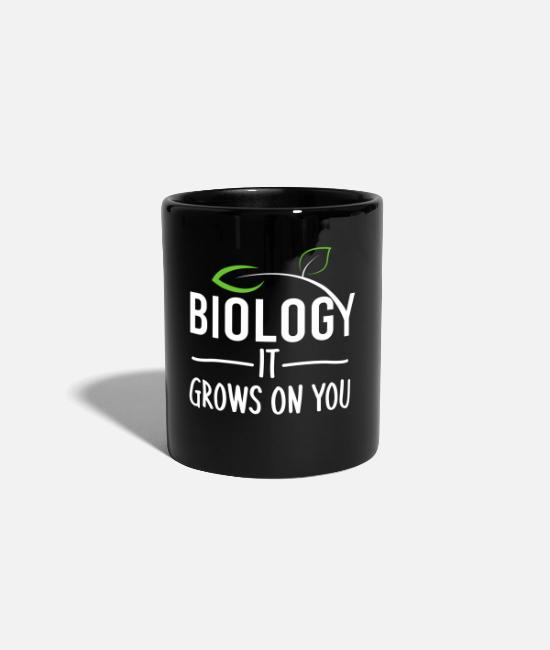 Uni Mugs & Drinkware - biology - Mug black