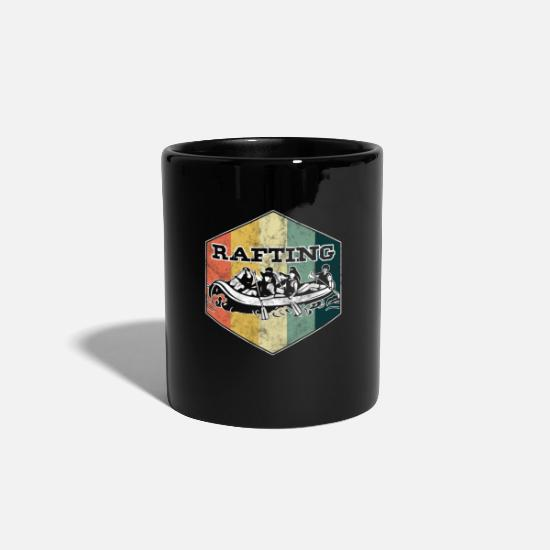Canoe Mugs & Drinkware - Swimming Surf Rafter Boating Gift Vintage Rafting - Mug black