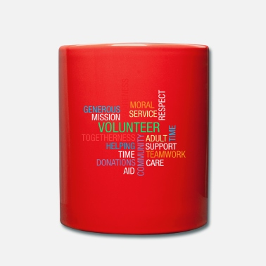 Volunteer Volunteer Helping Volunteering Volunteers Charity - Mug