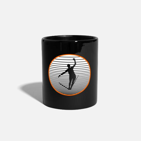 Gift Idea Mugs & Drinkware - Slackline - Mug black