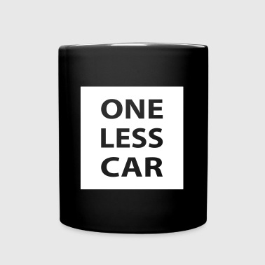 One Less Car - Full Colour Mug