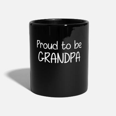 Proud Proud to be Grandpa - Mug