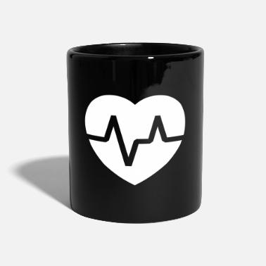 Pulse Heart pulse - Full Colour Mug