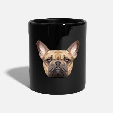 French Bulldog, Polygon, Dog, Frenchy - Mug
