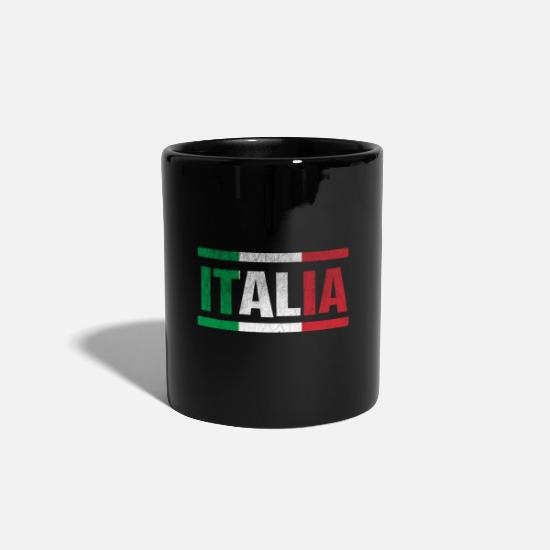 Pizza Mugs & Drinkware - Italia Italy Italy - Mug black