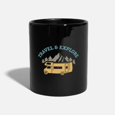 Travel Error Travel and Explore - Travel and Discover - Mug