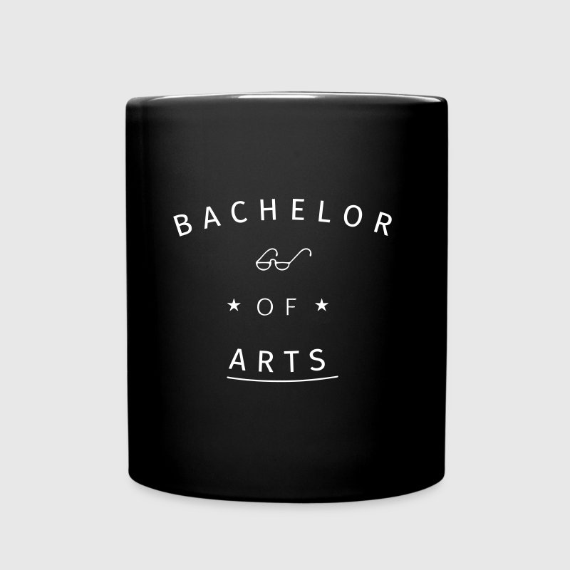 Bachelor of Arts - Tasse einfarbig
