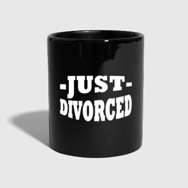Just divorced - Tasse einfarbig