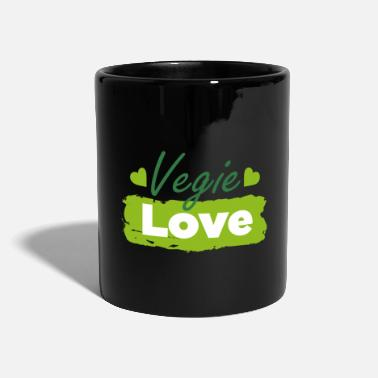Eat Vegi Vegie Love - Mug