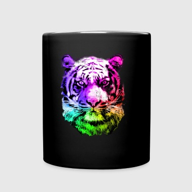 tiger - tigre - big cat - pshycho - Tasse einfarbig