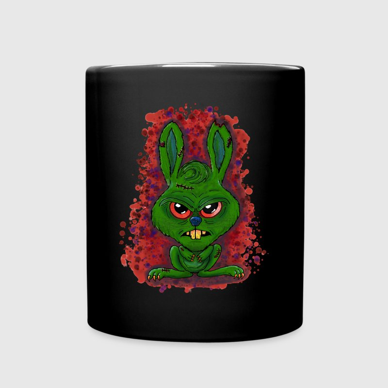Monsterhase - Monsterrabbit - Hase - Rabbit - Tasse einfarbig