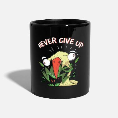Never give up - Mug