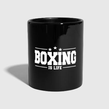boxing is life 1 - Taza de un color