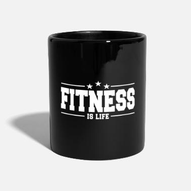 Health fitness is life 1 - Mug