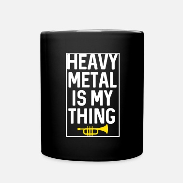 Metal Music TRUMPET HEAVY METAL MUSIC - Full Colour Mug