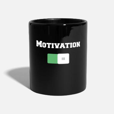 Motivation Motivation On Motivational Motiv Black - Full Colour Mug