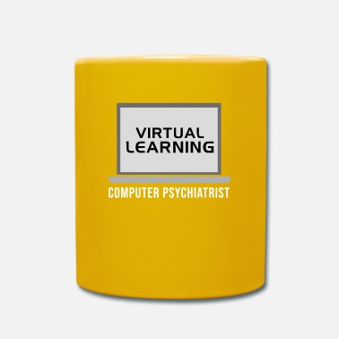 Computer Humour Virtual Learning Computer Psychiatrist Humour Pc - Mug