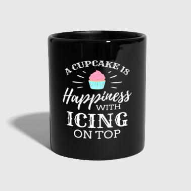 Cupcake A Cupcake is happiness Ice Cream Icecream Cold - Full Colour Mug