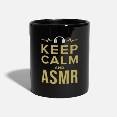 Keep Calm ASMR Relaxe Relaxation Whisperer Tingle Gift - Mug uni