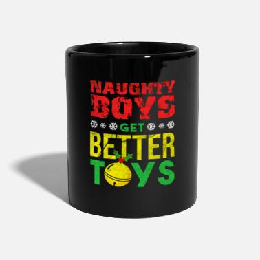 Sexist Funny Christmas Xmas Santa Claus sexist Sex Gift - Full Colour Mug