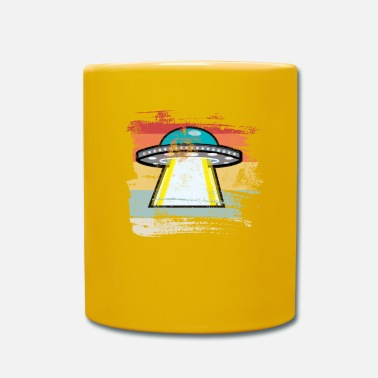 Outerspace Retro Outerspace - Mug