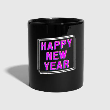 Champagne Happy New Year New Year celebration sparkling fireworks - Full Colour Mug