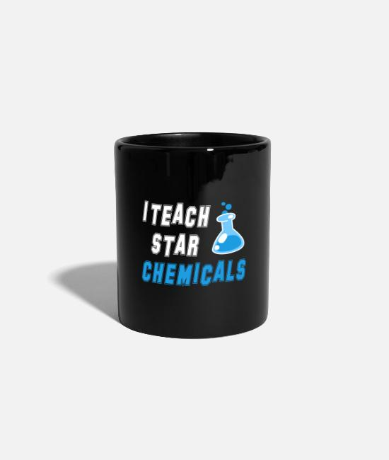 Occupation Mugs & Drinkware - I teach star chemist / gift idea - Mug black