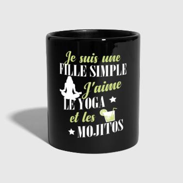 Yoga Yoga - une fille simple - Mug uni