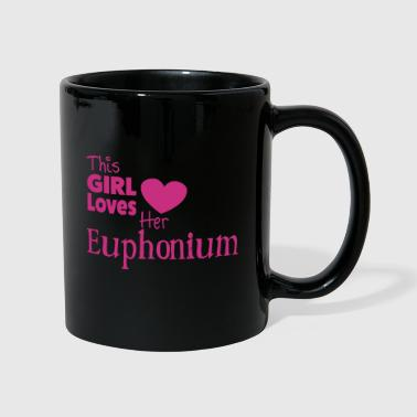 This Girl Loves  Her Euphonium - Taza de un color