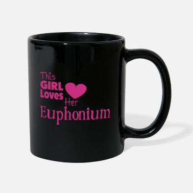 This Girl Loves  Her Euphonium - Ensfarvet krus