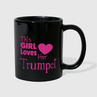 This Girl Loves Her Trumpet - Kubek jednokolorowy