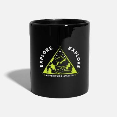 Travel Error Travel Explore Adventure Await - an adventure ... - Mug