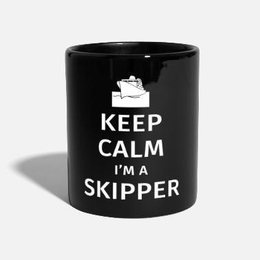 Keep Calm Keep Calm I'm a Skipper - Tazza monocolore