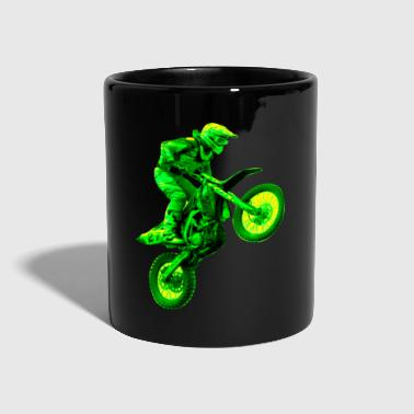 Bike enduro green - Full Colour Mug